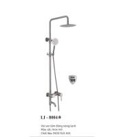Sen cây tắm đứng nóng lạnh inox SUS 304 LI-8004