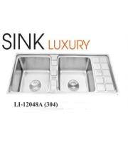Chậu rửa chén inox 304 cao cấp LI-12048A