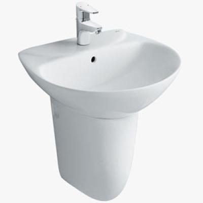 lavabo treo tường chân lửng LI-439