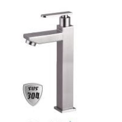 Vòi lavabo lạnh cao inox 304 LI-5002