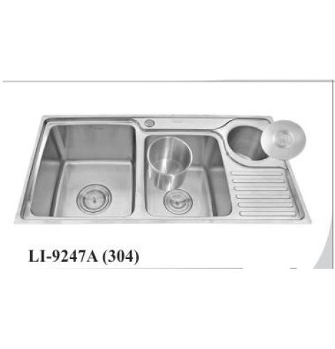 Chậu rửa chén inox 304 cao cấp LI-9247A