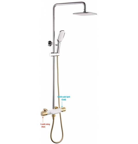 Sen cây tắm đứng cao cấp LI-9057TV
