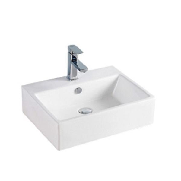 Chậu lavabo đặt bàn vuông LI-219