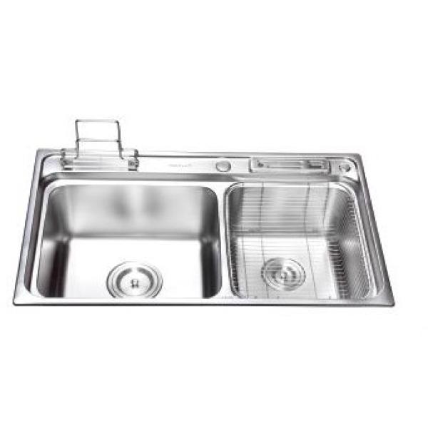 Chậu rửa chén inox  cao cấp LI-8349A