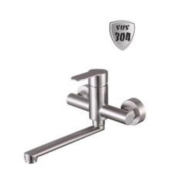 Vòi rửa chén gắn tường inox 304 LI-6836A
